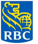 RBC Shield - blue and yellow on dark background