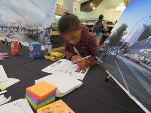 Community consultation at the Lois Hole Library