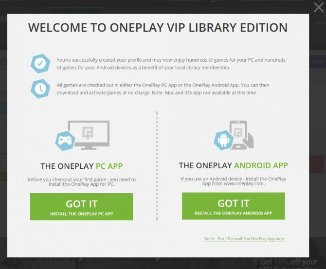 OnePlay App