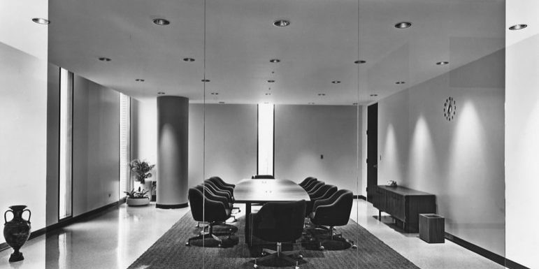 Centennial Library Board Meeting Room, 1967